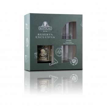 Botucal Rum Reserva Old Fashioned 40% 700ml + 2Gläser