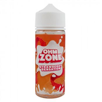Strawberry Sensation 100ml Shortfill Liquid by Ohm Zone