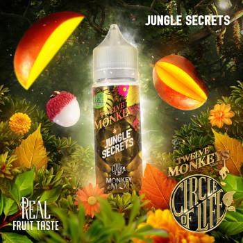 Jungle Secrets 50ml Shortfill Liquid by Twelve Monkeys