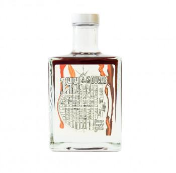 315 Upstairs 144 Square Raspberry Mannheim Dry Gin 44% 500ml