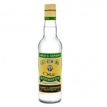 J.Wray Overproof Rum 63% Vol. 700ml