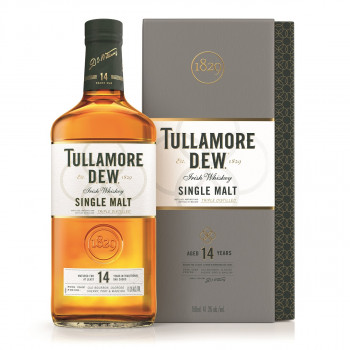 Tullamore D.E.W. Irish Single Malt Whiskey 14 Jahre 41,3% Vol. 700ml