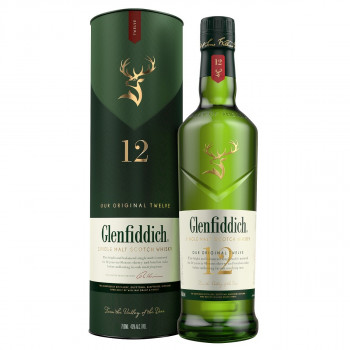Glenfiddich Single Malt Scotch Whisky 12 Jahre 40% Vol. 700ml