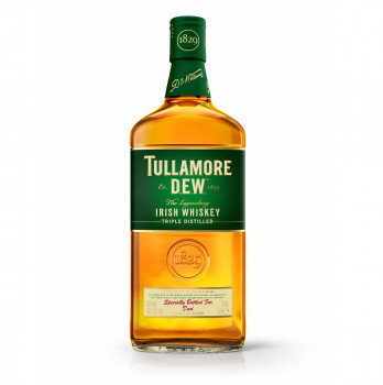 Tullamore Dew Irish Single Malt Scotch Whiskey 40% vol. 700ml