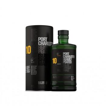 Bruichladdich Port Charlotte Scottish Barley 10 Jahre Single Malt Whisky 50% Vol. 700ml