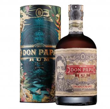 Don Papa Rum 40% mit Cosmic Geschenkbox - 700 ml