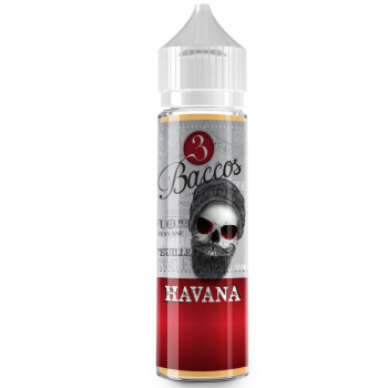 Havana 3 Baccos (50ml) Plus e Liquid by PGVG Labs