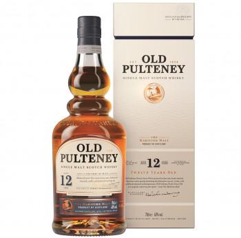 Old Pulteney  12 Jahre Single Malt Scotch Whisky 40% Vol. 700ml