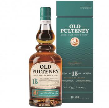 Old Pulteney 15 Jahre Single Malt Scotch Whisky 46% Vol. 700ml
