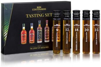 Rum Tasting Set Ron Centenario - vielfach mit Gold ausgezeichnete Weltklasse-Spirituose 250ml
