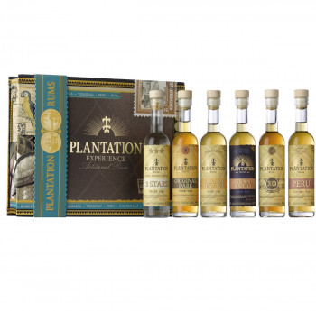 Plantation Experience Box 6er Rum Set 6 x 0,10l 600ml