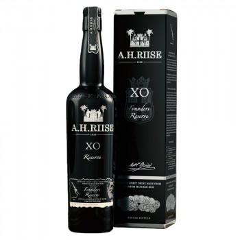 A.H. Riise X.O. Founders Reserve Black Edition Rum 44,5% Vol. 700ml