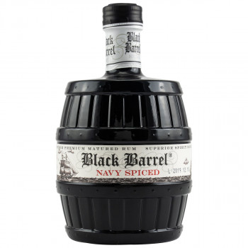 A.H. Riise Black Barrel Navy Spiced Rum 40% Vol. 700ml