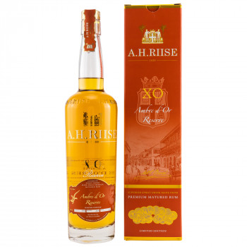 A.H. Riise X.O. Reserve Ambre d'Or Reserve Limited Edition 42% Vol. 700ml