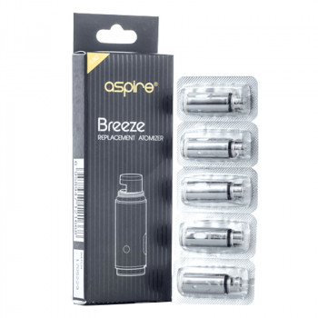 Aspire Breeze 1,0Ohm Coils 5er Pack