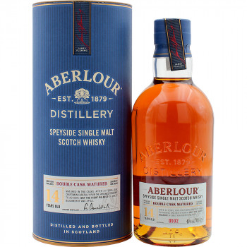 Aberlour 14 Years Old Double Cask Single Malt Scotch Whisky 40% Vol. 700ml