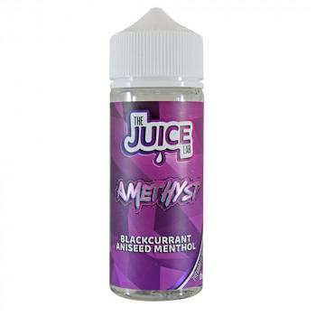 Amethyst Blackcurrant Aniseed Menthol 100ml Shortfill Liquid by The Juice Lab