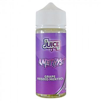 Amethyst Grape Aniseed Menthol 100ml Shortfill Liquid by The Juice Lab