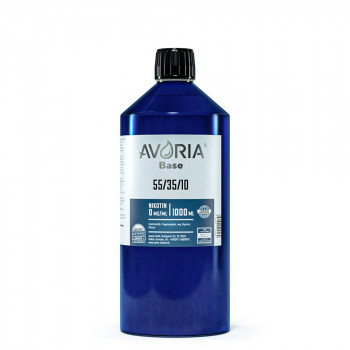Avoria Liquid Base 1000ml 55%/35%/10% PG/VG/Wasser Basisliquid