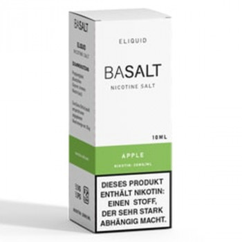 Apple 10ml 20mg NicSalt Liquid by BaSalt