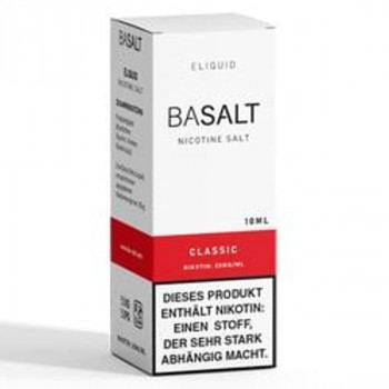 Classic 10ml 20mg NicSalt Liquid by BaSalt