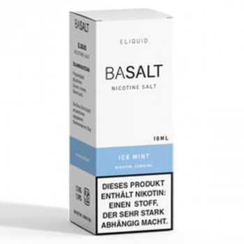 Ice Mint 10ml 20mg NicSalt Liquid by BaSalt