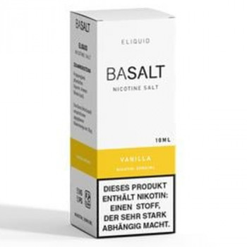 Vanilla 10ml 20mg NicSalt Liquid by BaSalt