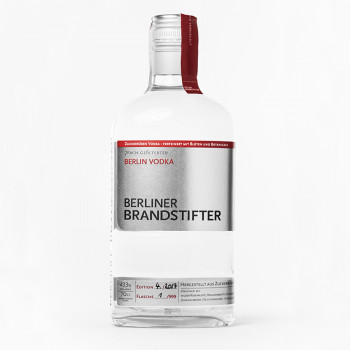 Berliner Brandstifter Vodka 43,3%Vol. 700ml