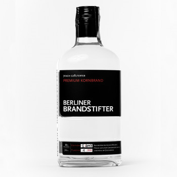 Berliner Brandstifter Premium Kornbrand 38%Vol. 700ml