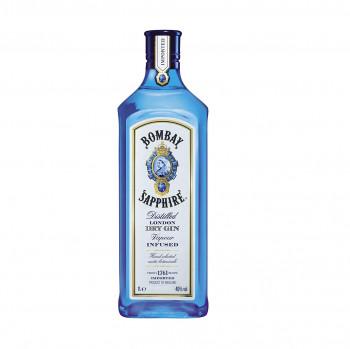 Bombay Sapphire London Dry Gin 40% Vol. 1000ml