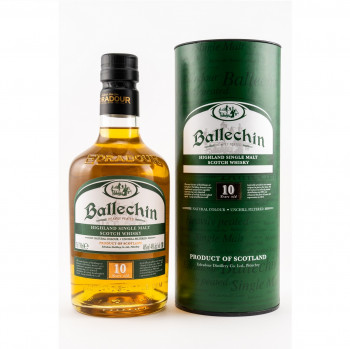 Ballechin 10 Jahre Single Malt Scotch Whisky 46% Vol. 700ml