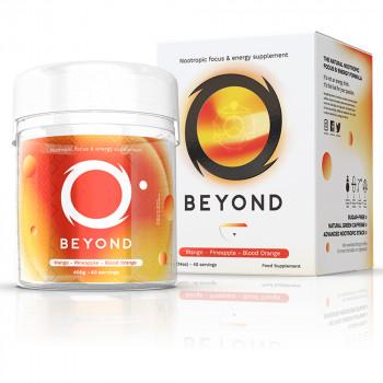 Mango – Pineapple – Blood Orange 400g Gaming Booster by Beyond NRG