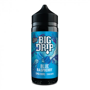 Big Drip Blue Raspberry 100ml Shortfill Liquid by Doozy Vape
