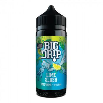Big Drip Lime Slush 100ml Shortfill Liquid by Doozy Vape