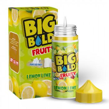Lemon Lime Fruity 100ml Shortfill Liquid by Big Bold