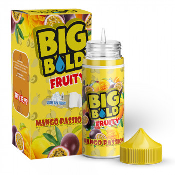 Mango Passion Fruity 100ml Shortfill Liquid by Big Bold