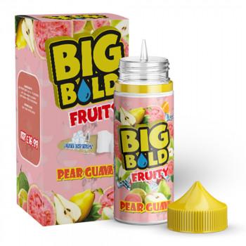 Pear Guava Fruity 100ml Shortfill Liquid by Big Bold
