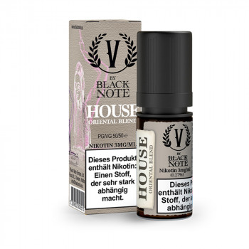 House 10ml Liquid by Black Note
