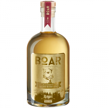 BOAR ROYAL 2020 Limited Edition – Im Barrique gereift Gin 43.0% 500ml