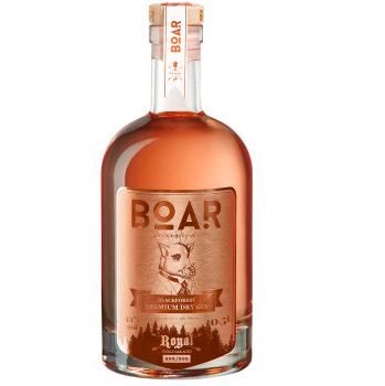 BOAR ROYAL Rubin 2020 Limited Edition – Im Barrique gereift Gin 43.0% 500ml