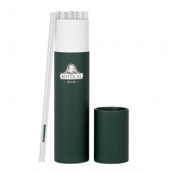 Botucal Glas Trinkhalme 20cm - 20Stk. + 1 Reiniger