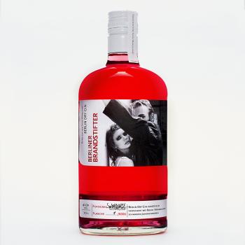 Berliner Brandstifter Kunstedition Sven Marquardt Gin 41,3%Vol. 700ml