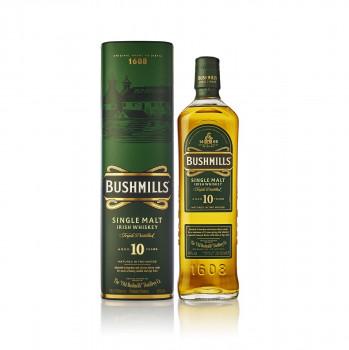 Bushmills Single Malt Irish Wiskey 10 Jahre 40% Vol. 700ml