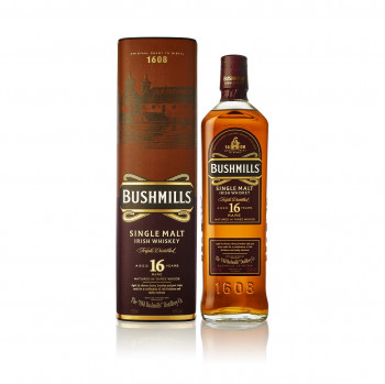 Bushmills 16 Jahre Single Malt Irish Whiskey 40% Vol. 700ml