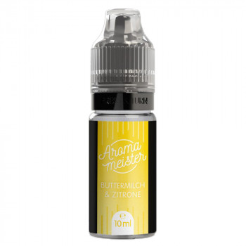 Buttermilch & Zitrone 10ml Aroma by Aromameister