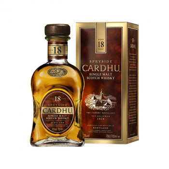 Cardhu 18 Jahre Single Malt Scotch Whisky 40% Vol. 700ml