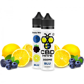 Blu 300mg e Liquid by CBD HIVE Vape