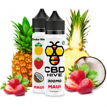 Maui 300mg e Liquid by CBD HIVE Vape