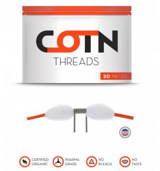 COTN Threads 20er Pack Watte