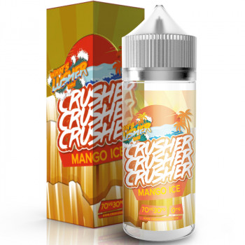 Mango ICE (100ml) Plus e Liquid by Crusher